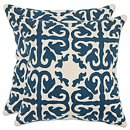 Safavieh Moroccan 22-Inch x 22-Inch Throw Pillows (Set of 2)