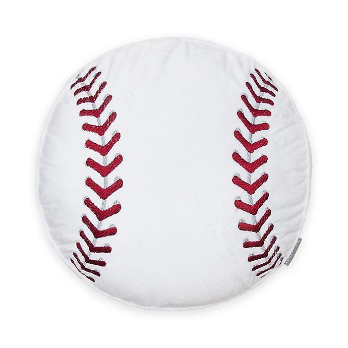 Alternate image 1 for LevtexBaby® Little Sport Baseball Pillow