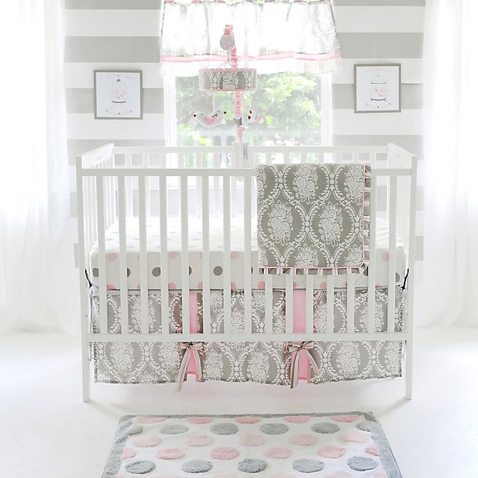 Alternate image 1 for My Baby Sam Olivia Rose Crib Bedding Collection