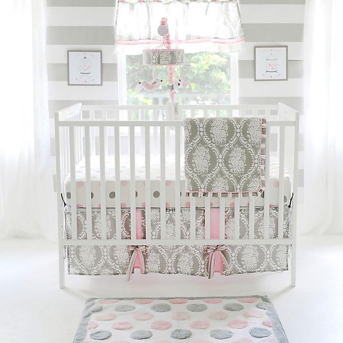 Alternate image 1 for My Baby Sam Olivia Rose 3-Piece Crib Bedding Set