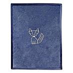 Lambs & Ivy® Metallic Fox Blanket in Navy/Gold