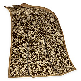 HiEnd Accents San Angelo Leopard Throw Blanket