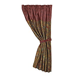 HiEnd Accents San Angelo Paisley Window Curtain Panel