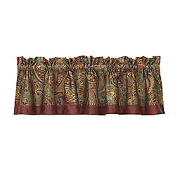 HiEnd Accents San Angelo Paisley Window Valance