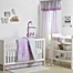 Part of the The Peanutshell™  Woodland Crib Bedding Collection in Purple/Grey