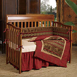 HiEnd Accents Cascade Lodge Crib Bedding Collection