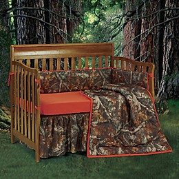 HiEnd Accents Oak Camo Crib Bedding Collection