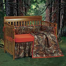 HiEnd Accents Oak Camo Crib Bedding Collection