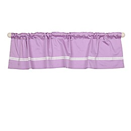 The Peanut Shell™ Window Valance in Purple