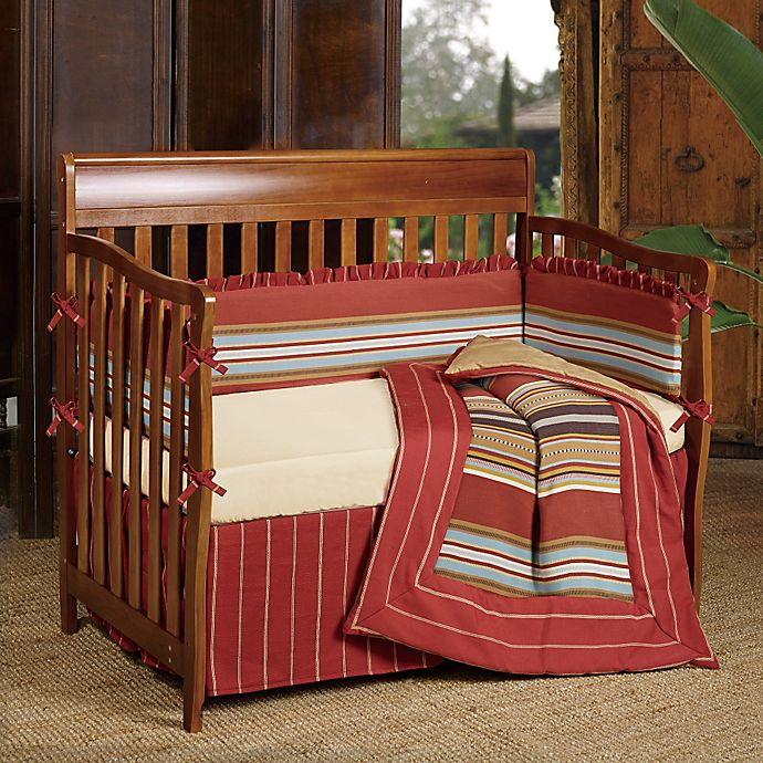 Alternate image 1 for HiEnd Accents Calhoun 2-Piece Crib Bedding Set