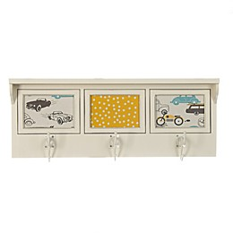 Glenna Jean Traffic Jam 3-Opening Photo Hanger Shelf