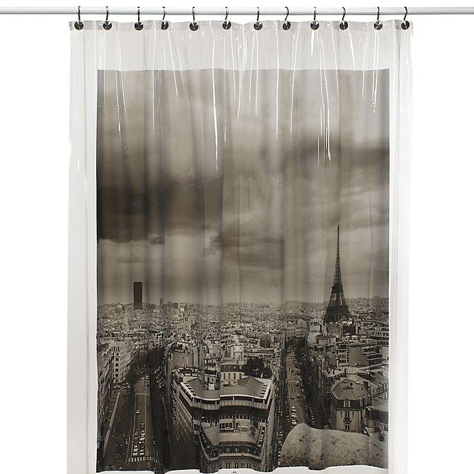 Paris Vinyl Shower Curtain Bed Bath Amp Beyond