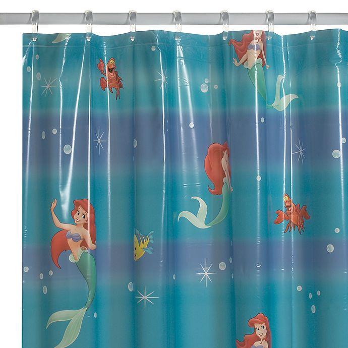 DisneyR Little Mermaid Shower Curtain