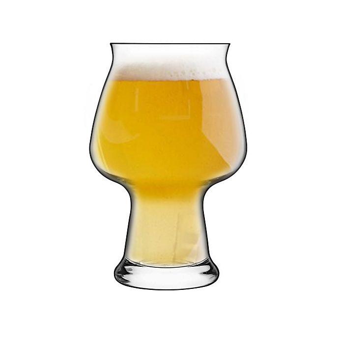 Alternate image 1 for Luigi Bormioli Birrateque Craft Cider Beer Glasses (Set of 2)