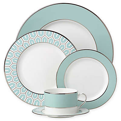 Brian Gluckstein by Lenox® Clara™ Aqua Dinnerware Collection