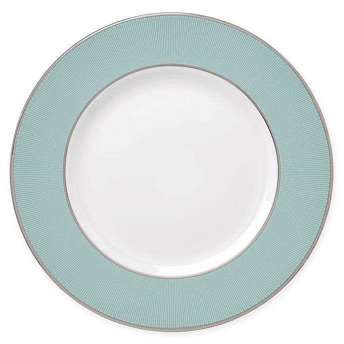 Alternate image 1 for Brian Gluckstein by Lenox® Clara™ Aqua Dinner Plate