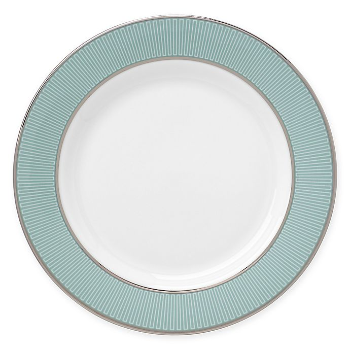 Alternate image 1 for Brian Gluckstein by Lenox® Clara™ Aqua Bread and Butter Plate