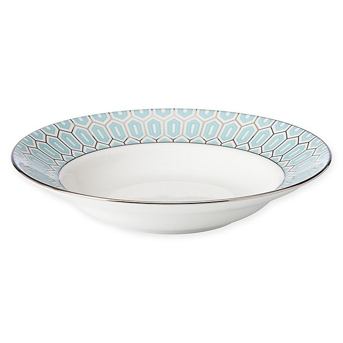 Alternate image 1 for Brian Gluckstein by Lenox® Clara™ Aqua Soup Bowl