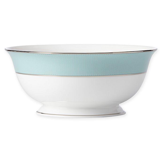 Alternate image 1 for Brian Gluckstein by Lenox® Clara™ Aqua Serving Bowl