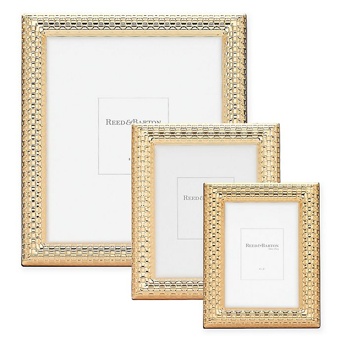 a914f0b72ab Reed   Barton Watchband Picture Frame in Satin Gold
