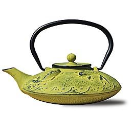 Old Dutch International Gon Koi Teapot in Moss Green