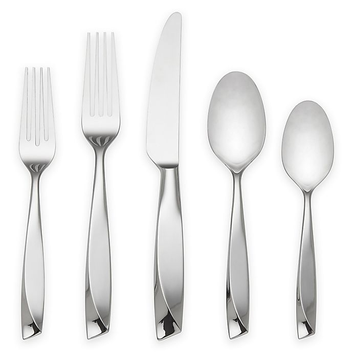 Alternate image 1 for Lenox® Ondine 5-Piece Place Setting in Silver