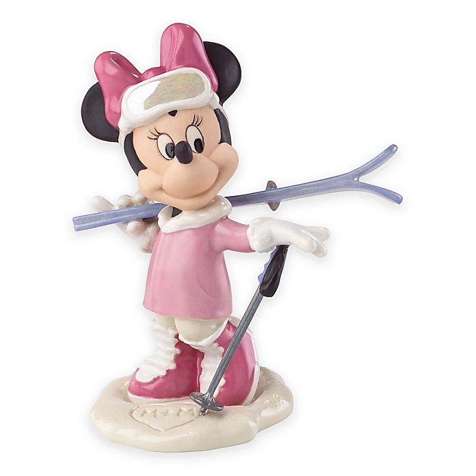 Alternate image 1 for Lenox® Disney Porcelain Minnie Skiing Adventure Figurine