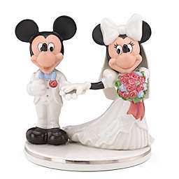 Lenox® Disney Mickey & Minnie Wedding Cake Topper