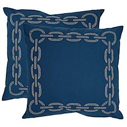 Safavieh Sibine 22-Inch Throw Pillows (Set of 2)