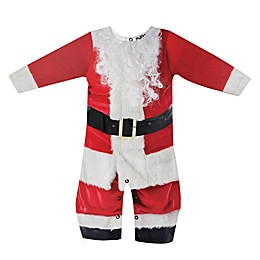 Faux Real Santa Suit Romper