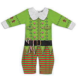 Faux Real Xmas Elf Romper