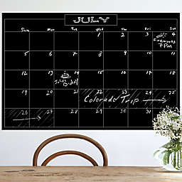 Wallies Peel & Stick Monthly Chalk Calendar Decal