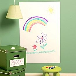 Wallies Peel & Stick Large Dry Erase Decal