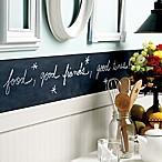 Slate Grey 38-Inch Peel and Stick Chalkboard Border
