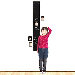 Wallies Peel & Stick Chalkboard Growth Chart