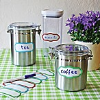 Wallies Peel-and-Stick Multi-Colored Dry Erase Labels