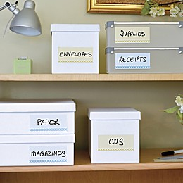 Wallies Peel-and-Stick Modern Dry Erase Labels