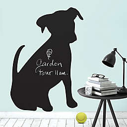 Puppy Chalkboard Peel and Stick Wall Decal