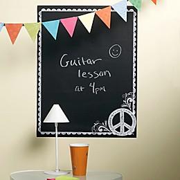 Wallies Peel & Stick Peace Sign Chalkboard Wall Decal