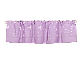 The Peanut Shell™ Woodland Window Valance in Purple