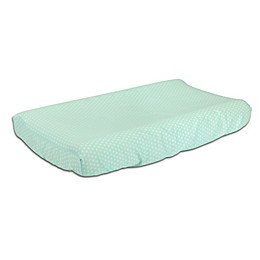 The Peanutshell™  Mini-Dots Changing Pad Cover in Mint