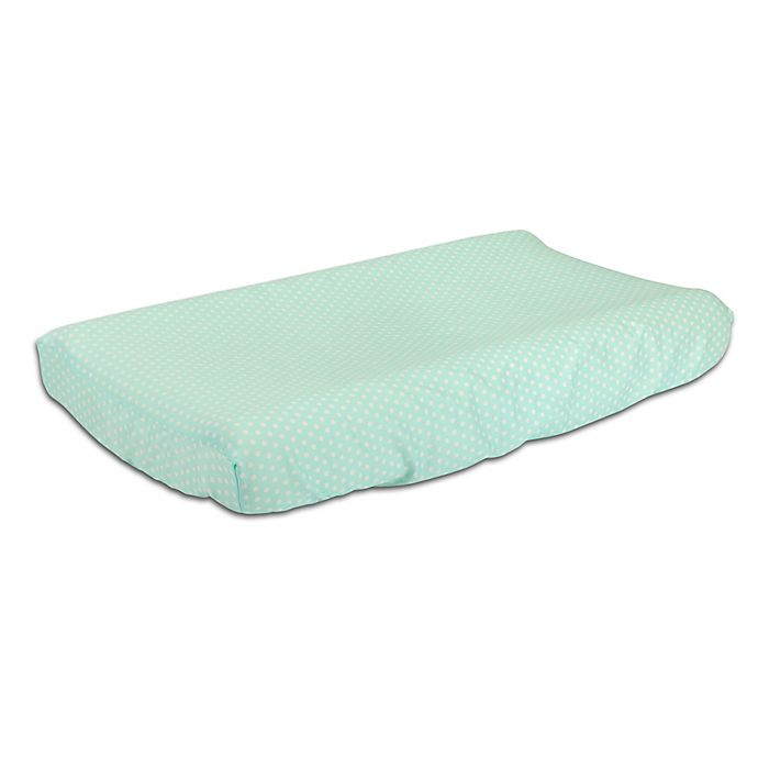Alternate image 1 for The Peanutshell™  Mini-Dots Changing Pad Cover in Mint