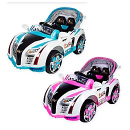 Lil Rider Battery-Operated Sports Car with Electric Canopy