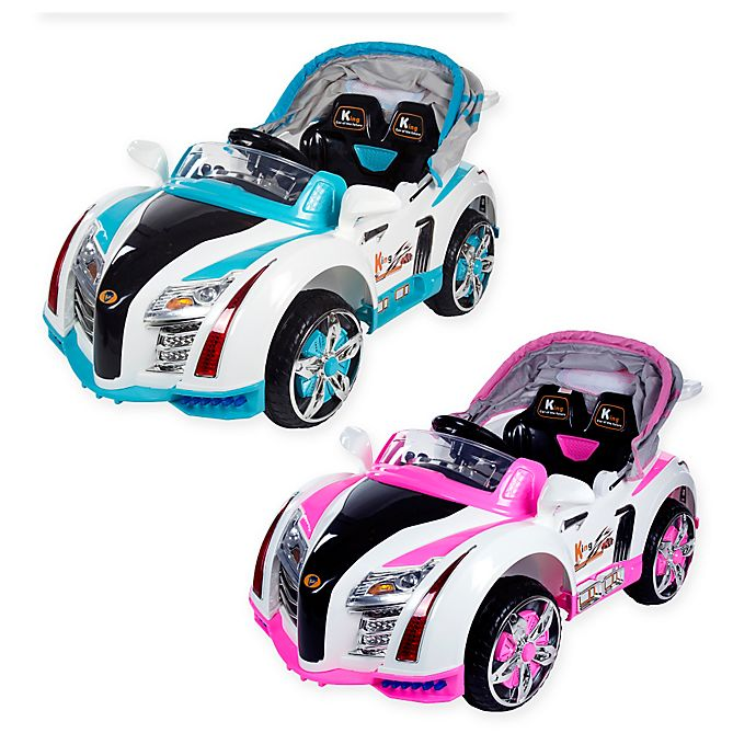 Alternate image 1 for Lil Rider Battery-Operated Sports Car with Electric Canopy