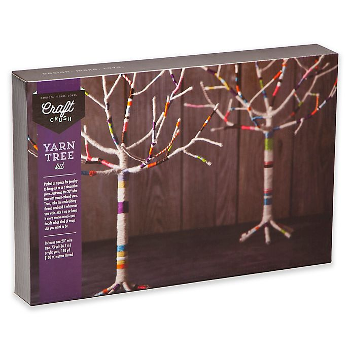 Alternate image 1 for Craft Crush Yarn Tree Kit