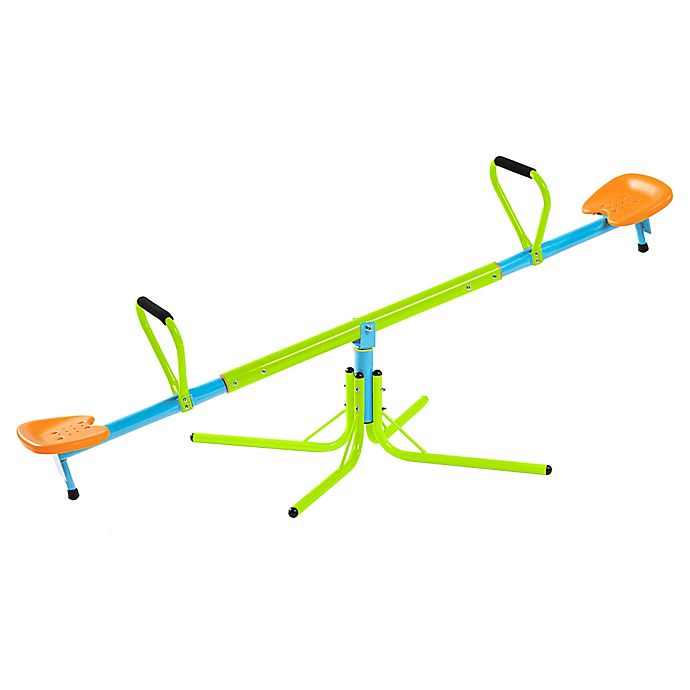 Alternate image 1 for Pure Fun 360 Swivel Kids Seesaw