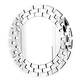 Abbyson Living® Devon 35.5-Inch Round Mirror