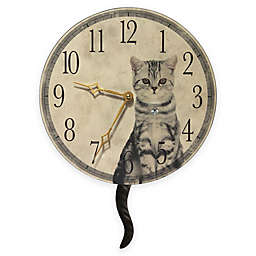 Infinity Instruments Cat Wall Clock