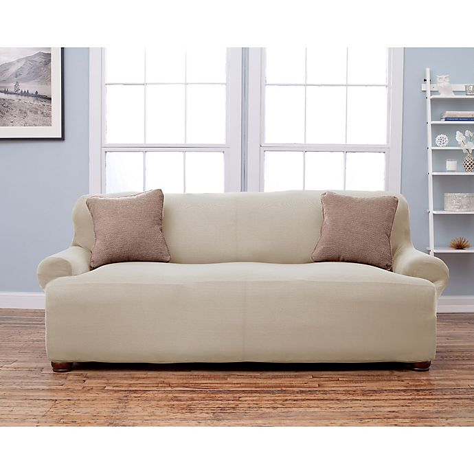 Fine Lucia Love Corduroy Sofa Slipcover Bed Bath Beyond Creativecarmelina Interior Chair Design Creativecarmelinacom