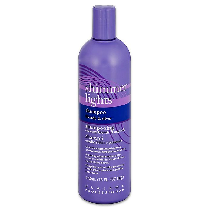Alternate image 1 for Clairol Professional® 16 oz. Shimmer Lights Shampoo